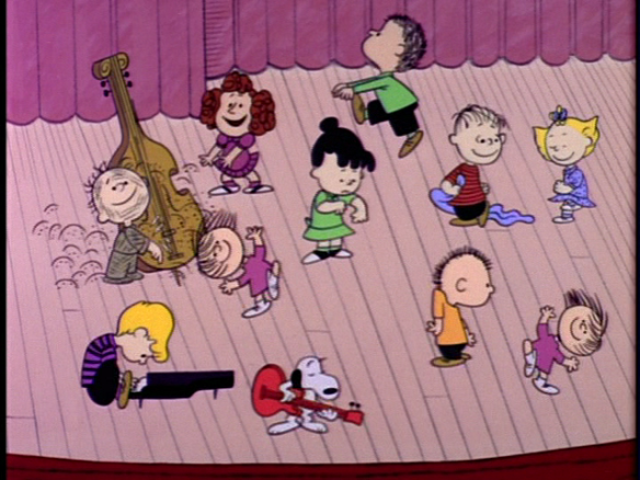 Charlie Brown Christmas Dancing Children